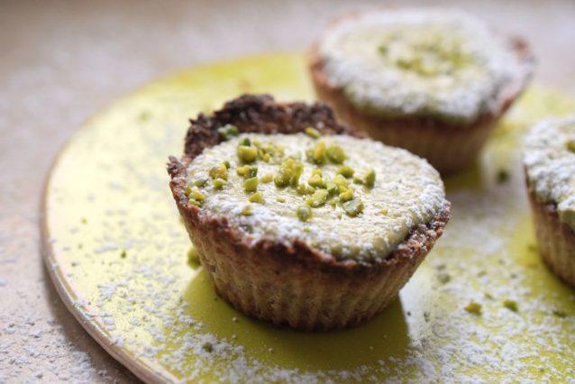Quark-Matcha-Muffins Low Carb Lachfoodies