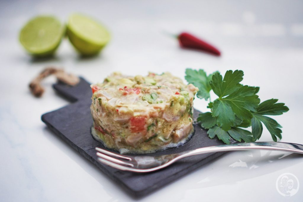 Thunfisch Ceviche