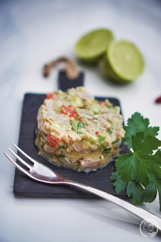 Thunfisch Ceviche Low Carb