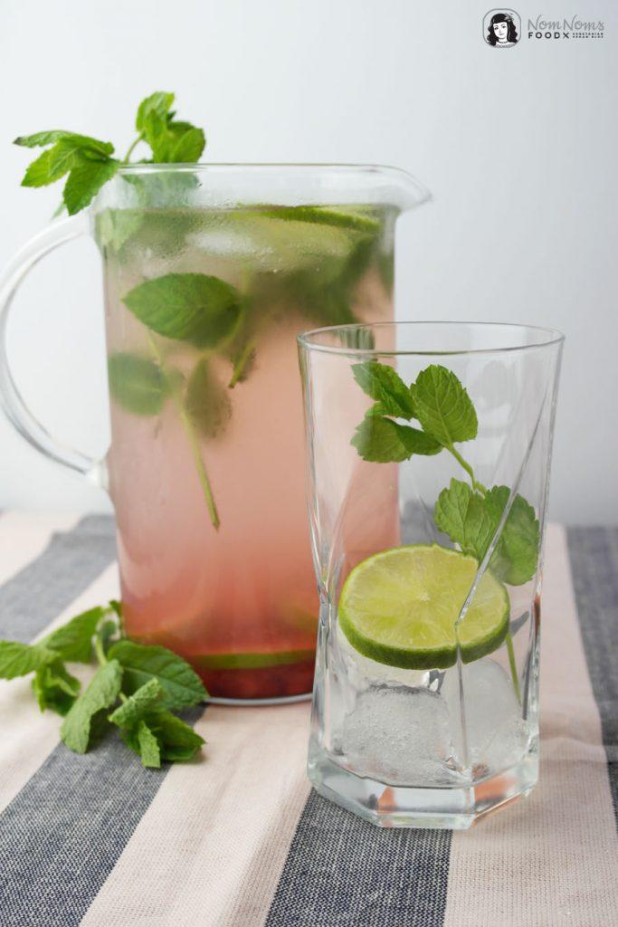 Infused Water Granatapfel-Limetten-Minze