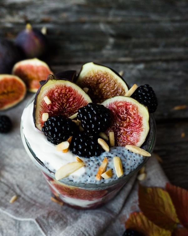Chia-Mohn-Pudding low carb