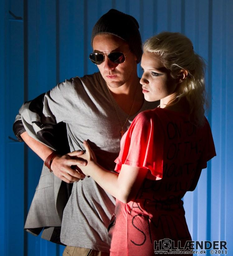 Model: Stefan Makris & Sidsel Rasmussen - Makeup: Eva Muller - Foto: Thomas Hollænder