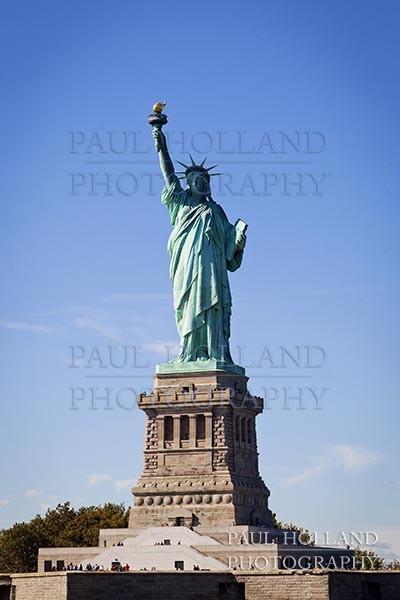 Photograph New York City - Statue of Liberty image
