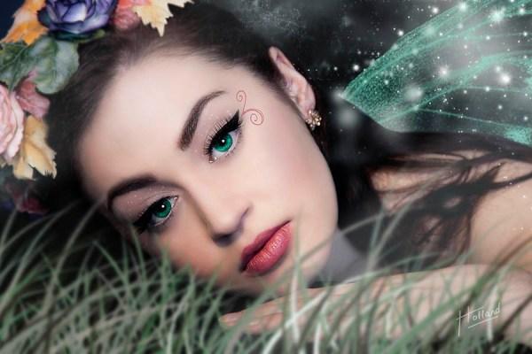 Sad Fairy - unique fantasy art photography by Paul Holland