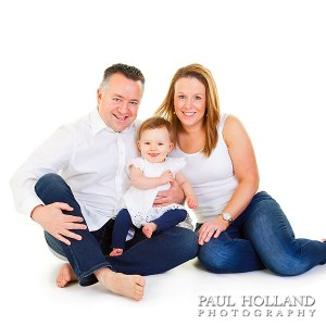 Image for family studio photo shoot voucher