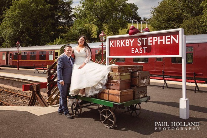 Image showing wedding photography at Kirkby Stephen East