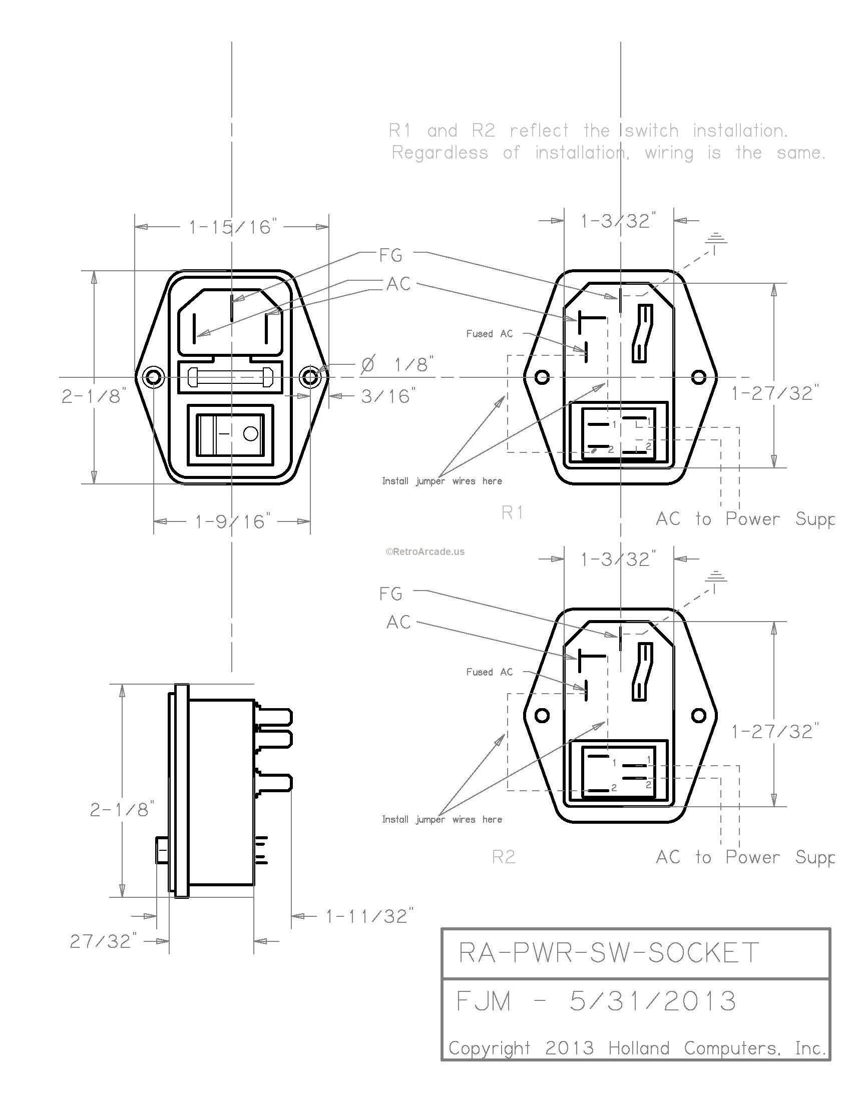 Power Surge Protector Fuse Box
