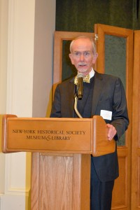 Dr. Michael Ryan, Vice President and Director of the Patricia D. Klingenstein Library, New-York Historical Society Museum & Library.
