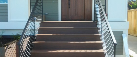 Outdoor Stair Iron Railing