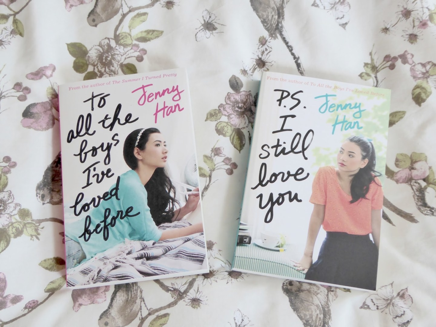 To All The Boys I've Loved Before and PS. I Still Love You by Jenny Han | Book Review
