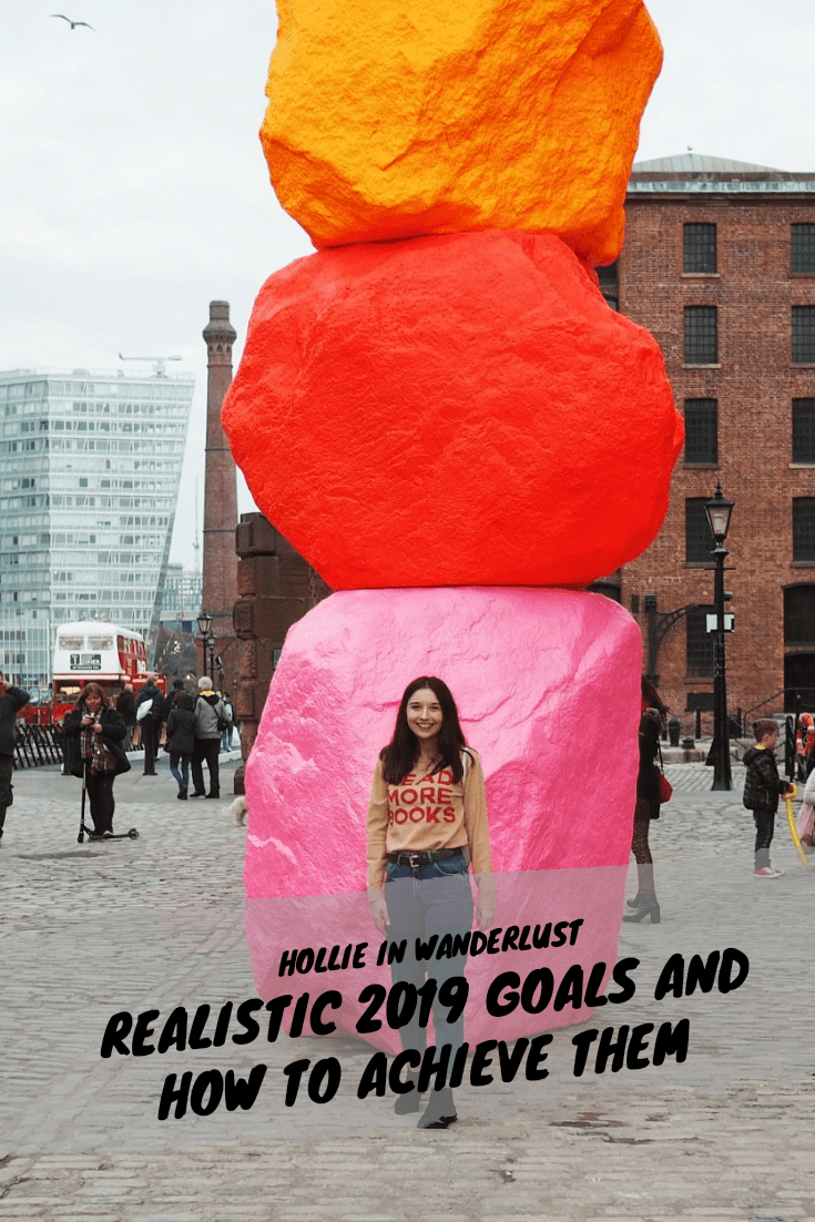 Creating and achieving realistic 2019 goals | Hollie in Wanderlust | Lifestyle Blogger