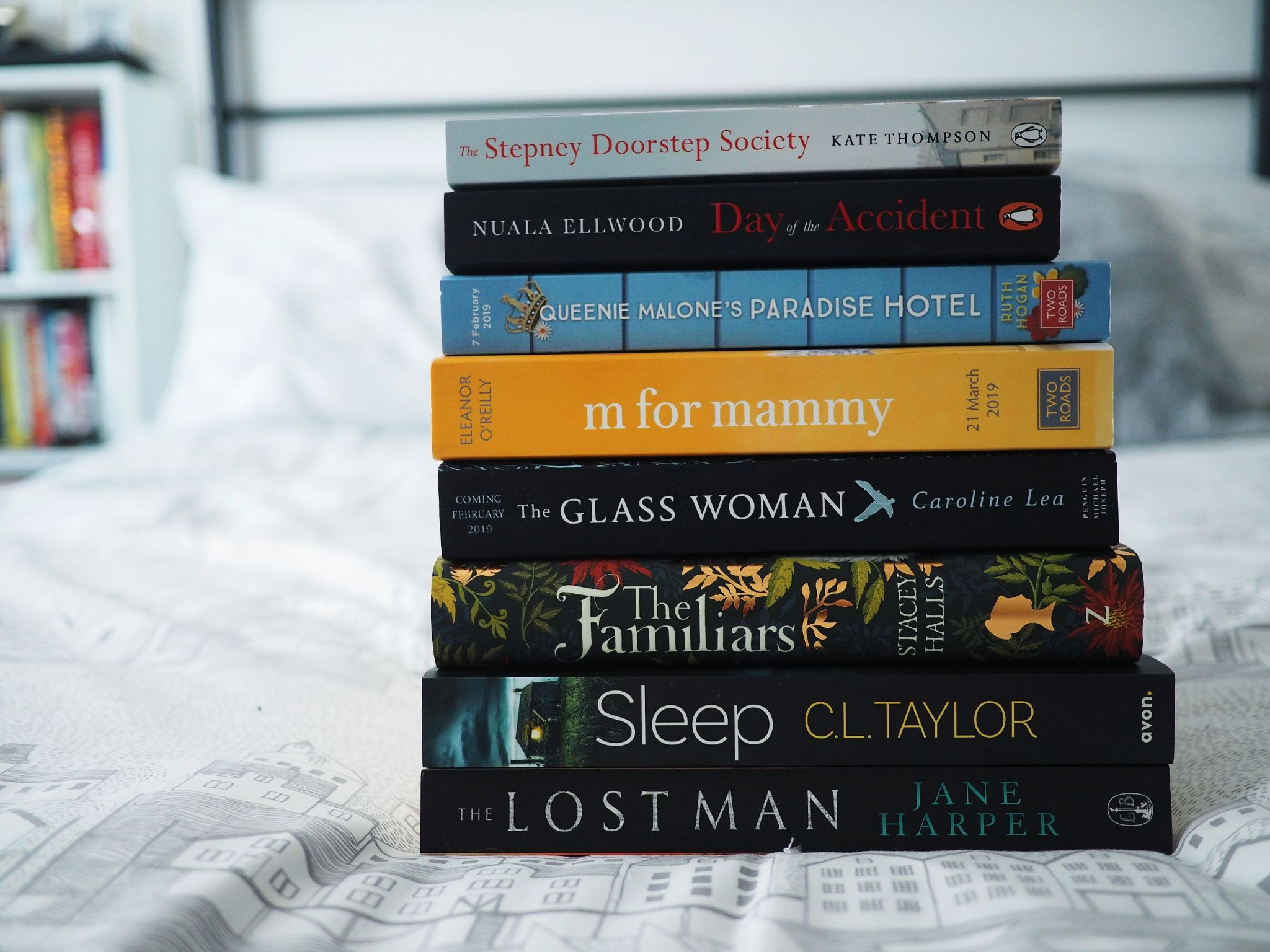 Book Haul for my February Reading List | Hollie in Wanderlust | Book Blogger