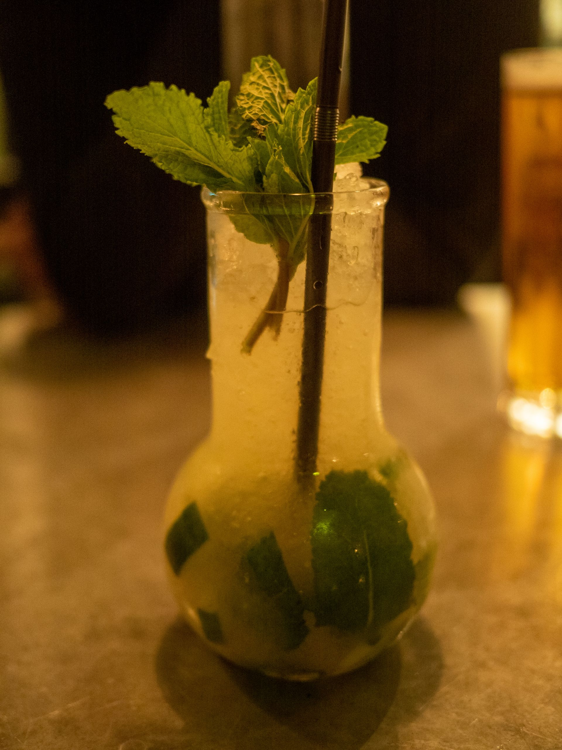 The Botanist Cocktail Menu | English Mojito