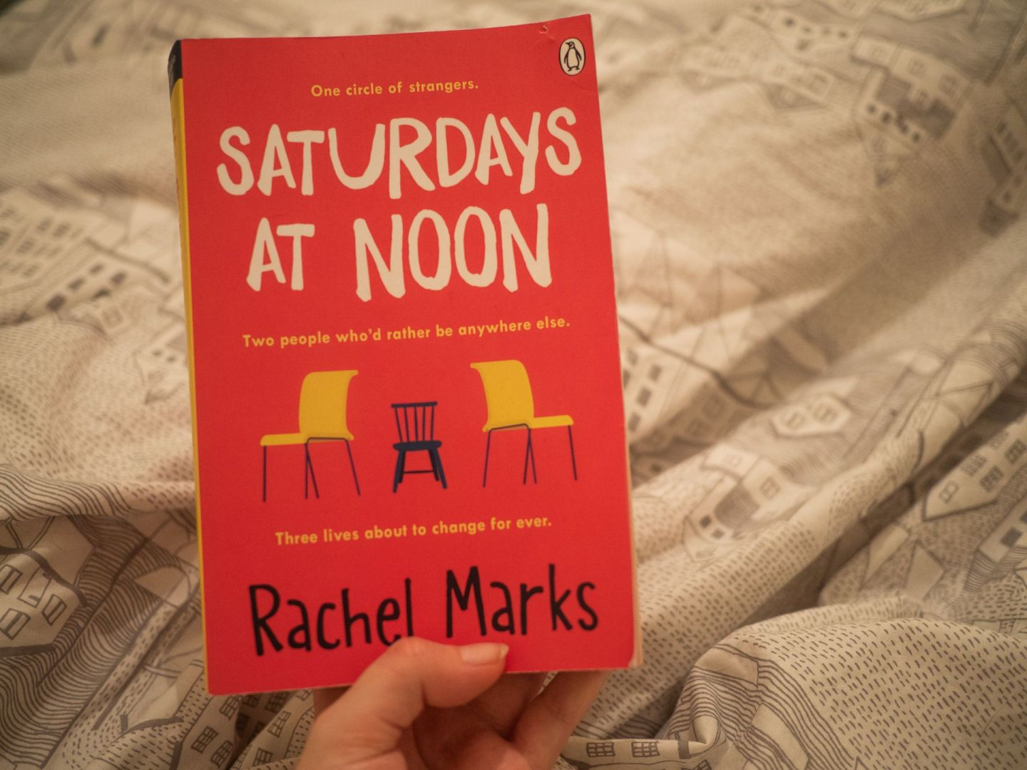 Saturdays at Noon by April Marks | Book Review