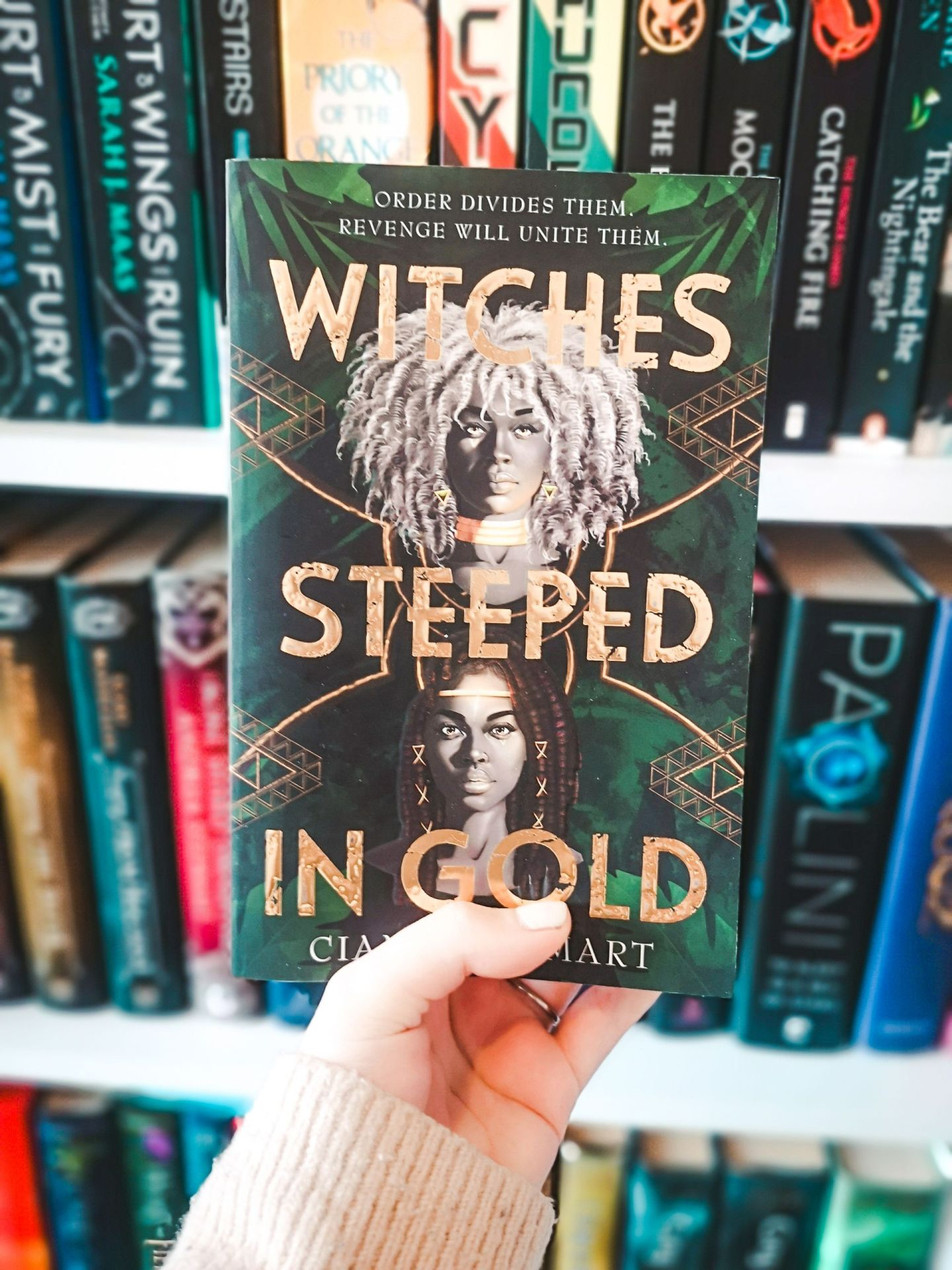 Witches Steeped in Gold by Ciannon Smart | May TBR