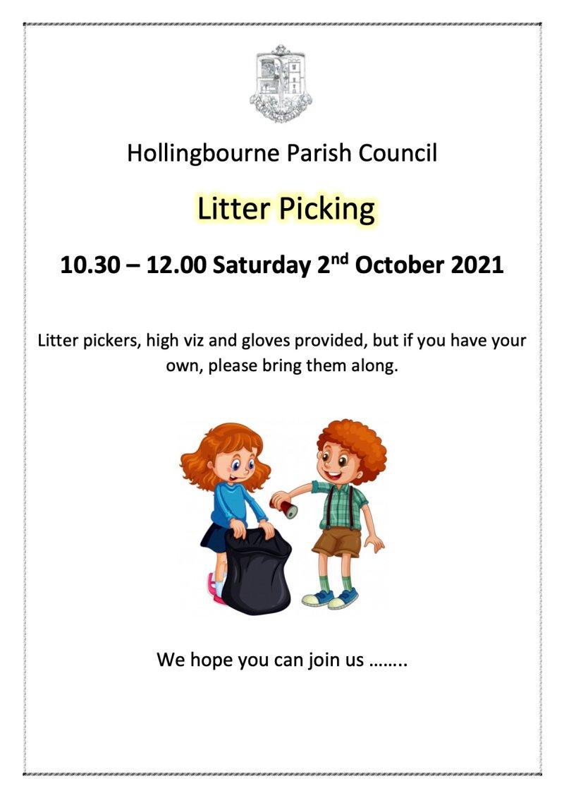 Litter Picking Oct 2021