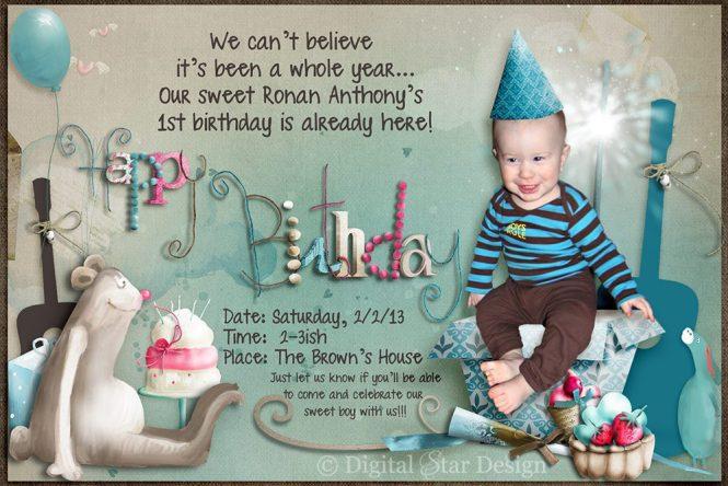 Birthday Invitations Holly Anissa