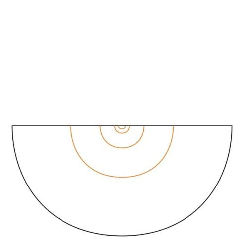 Half Circle Pi