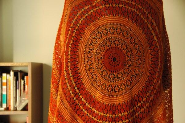 Eirwen - knitted shawl