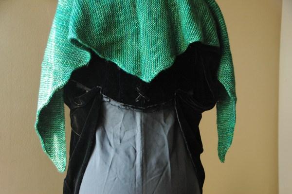 Wafian - knitted shawl