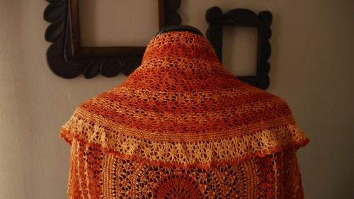 Eirwen knitted shawl 1
