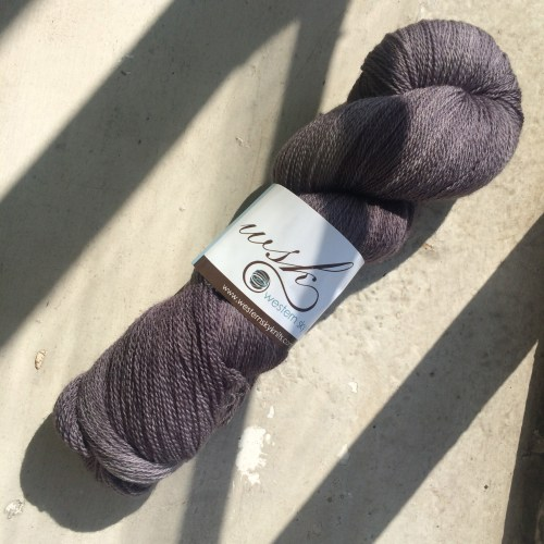 Western Sky Knits - superwash merino lace