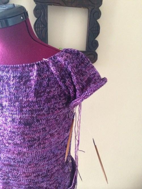 work in progress sweater
