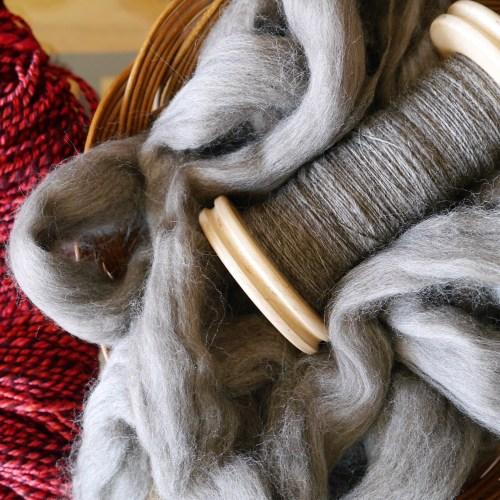 spinning yarn