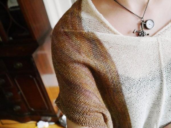 Banaue Breeze Sweater Sleeve detail