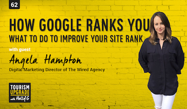 Angela Hampton Podcast episode Google ranking