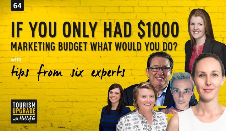 $1000 marketing budget