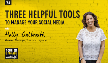 Three helpful tools to manage your social media – episode 74