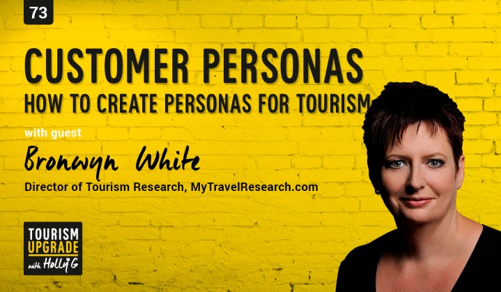 how to create customer personas for tourism