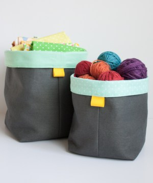 Holly McBride Workshop | Fabric Baskets class | hollymcbride.com