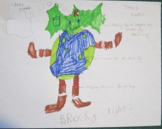 Rights mascot (3)