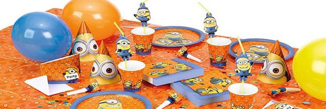 Vaisselle Jetable Anniversaire Les Minions Holly Party