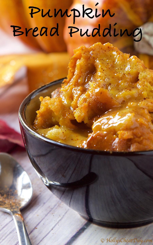 Repost Crockpot Pumpkin Bread Pudding Holly S Cheat Day