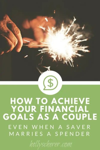 If you want to get your spouse on board, they'll be more apt to follow if you lead by example. Nagging them about their terrible habits isn't going to change them. But showing them the fun and freedom you've created by being intentional with your finances might.