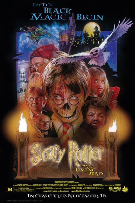 Harry Potter en zombie