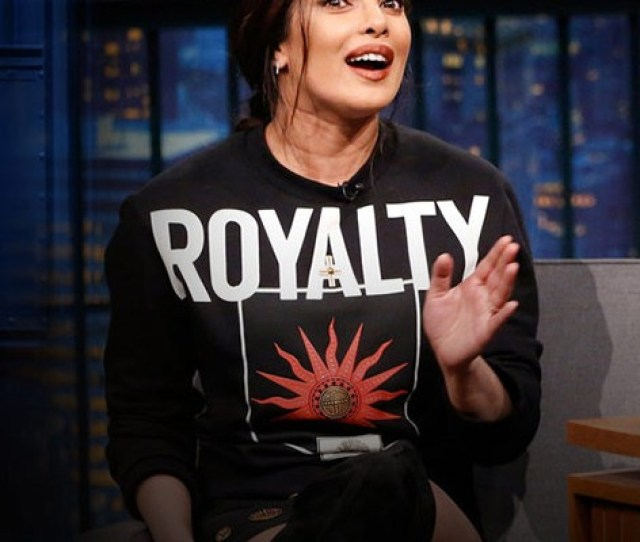 Priyanka Chopra Hits Back After Getting Trolled For Her Fake Accent On Late Night With Seth Meyers Watch Video Bollywood Hollywood
