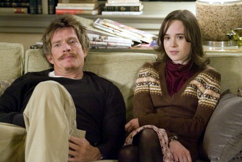 Thomas Haden Church and Ellen Page