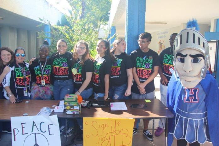 Love hub event unites hollywood hills high school on feb. 14
