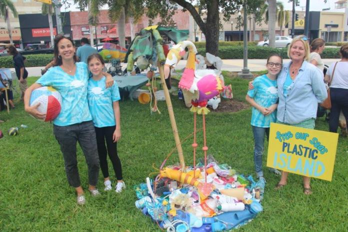 Green theme at young circle's funtastic friday event