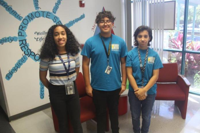 Driftwood middle school students develop app that measures energy use by classroom devices