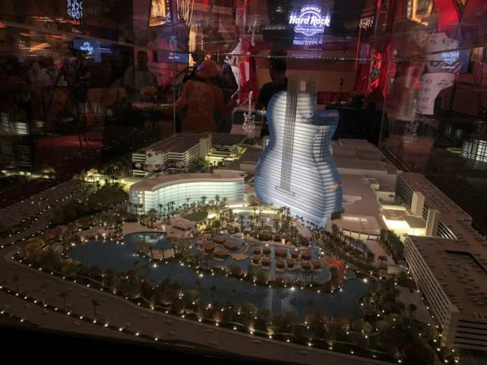Scale Model of the Future Seminole Hard Rock Hollywood Property