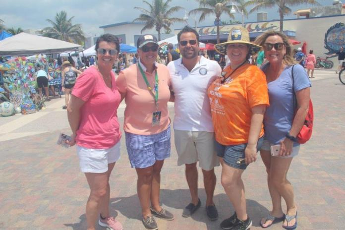 H2o day at hollywood beach is a success