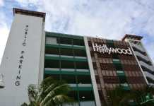 Nevada street parking garage; 314 spaces added for  parking on hollywood beach