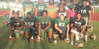 Mcarthur Football team prepares for playoff game against Fort Lauderdale