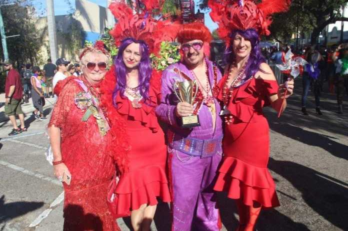 Mardi Gras Parade Returns, Draws Thousands to Downtown Hollywood