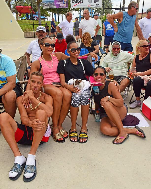 Beach Bash Spectators